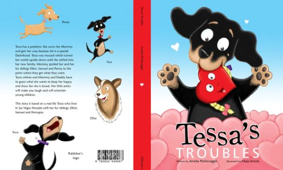 Children S Book Front And Back Cover : Amelia picklewiggle children s book author